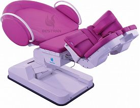 Electric birthing bed