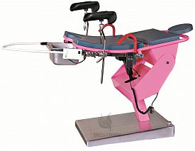 Electric gynecology table